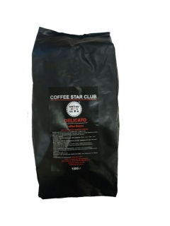 Coffee Star Club Delicato 1кг